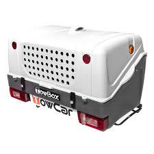 porta cani per auto box trasporto cani towcar towbox v1 grigio deporvillage