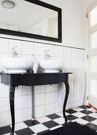 black and white bathroom designs 12 gorgeous black and white bathrooms