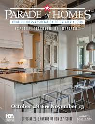 2016 parade of homes magazine by parade of homes greater austin