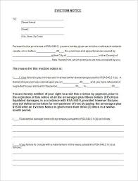 eviction notice template word resumesss franklinfire co