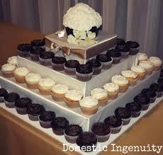 simple wedding cake cupcakes