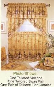 Tuscany Kitchen Curtains by Vino Tuscany Swag Valance Wine 3 Pc Window Set Home Decor 38x60