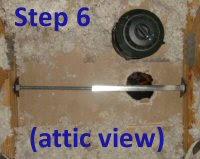 Installing A Ceiling Fan Box by How To Install A Ceiling Fan Mount Bracket U0026 Electric Box One