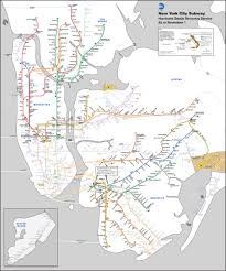 Mta Map Subway Nyc Subway Map Updated