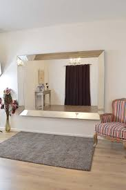 living full length frameless wall mirror u2022 bathroom mirrors and