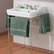 Bathroom Sink Console Table Hall Bath Cheviot Essex Bathroom Sink Wth Metal Console Item