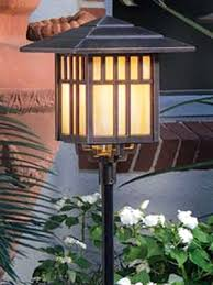 low voltage landscape lighting fixtures and art deco mission style