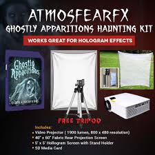halloween atmosfearfx ghostly apparitions video projector kit