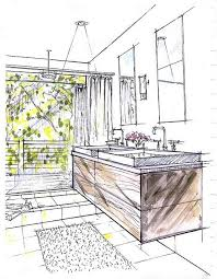 Interior Sketch by 476 Best Interior Sketch Images On Pinterest