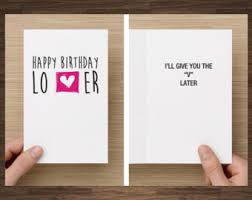 birthday card him etsy