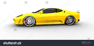 sports cars side view bright yellow sports car side view stock illustration 37300822