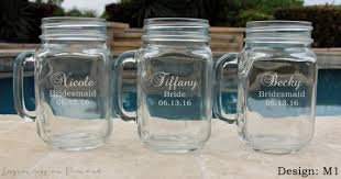 personalized mugs for wedding 7 jar sippy cups wedding party glasses