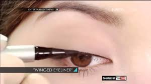Eyeliner Dan Maskara Wardah tips memakai eyeliner cair