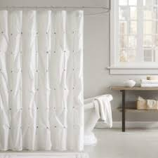 How To Make Ruffled Curtains 3 Steps For How To Install A Shower Curtain Overstock Com