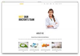 Free Homepage For Website Design 20 Best Html5 Medical Website Templates 2017 Colorlib