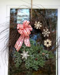 front door christmas wreath craft hgtv
