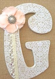 Decorated Letters For Nursery Wall Decor Letters Decoration For Walls Large Letters For