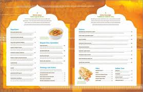 indian menu template indian restaurant menu template for free page 2 tidyform