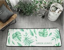 teppich k che 80x50 cm 150x50 cm sommer grünen pflanzen teppich küche matte anti