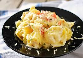 Need A Dinner Idea Tomato Tortellini Alfredo Kleinworth U0026 Co