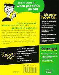 troubleshooting your pc for dummies amazon co uk dan gookin