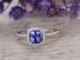 tanzanite blue rings images Tanzanite engagement ring tanzanite promise ring for her bbbgem jpg