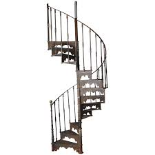 Spiral Staircase by An Antique Industrial Cast Iron Spiral Staircase Garden Stairs