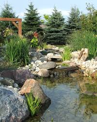garden beautiful garden pond design with artificial waterfall
