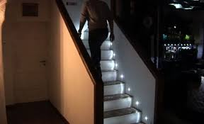 look cool while going up or down stairs with led stair lights