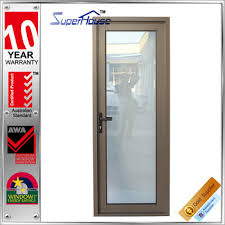 Aluminum Clad Exterior Doors Soundproof Aluminum Comfort Room Door Design Aluminum Clad Wood