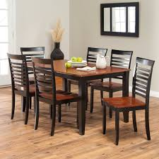 Kitchen Furniture Sets Boraam Bloomington Dining Table Set Black Cherry Hayneedle