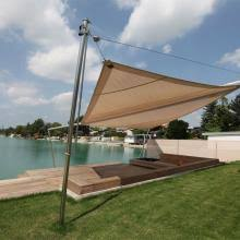 Triangle Awning Canopies Retractable Triangle Shade Sail And Garden Canopy