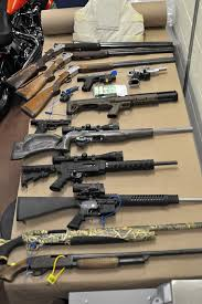 mission rcmp seize 13 firearms and more than 180 pounds of
