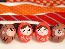 make eggshell dolls pink stripey socks