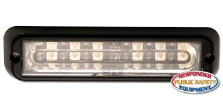 ecco led offroad lights ecco ed3766 dual color linear led warning light