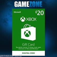 xbox 360 gift card xbox live 20 gbp uk gift card points pounds for microsoft xbox