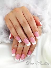 white and pink gel nails nail polish designs