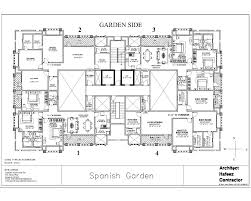 commercial building floor plan buildings plan residential plans overview spanish garden at g s