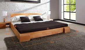lit en bois massif tokyo chambre 罌 coucher design en bois massif