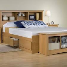 twin captains bed with bookcase headboard fascinating full size storage bed with bookcase headboard also most