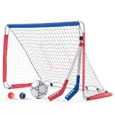kickback soccer goal u0026 pitch back kids sports toy step2