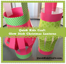 christmas sticks with lights quick kids crafts glow stick christmas lanterns christmas crafts