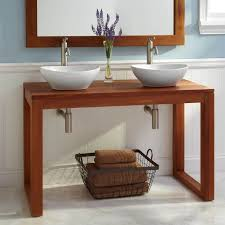 Teak Vanity Bathroom by 66 Best Bath Images On Pinterest Bathroom Ideas Vanity Bathroom