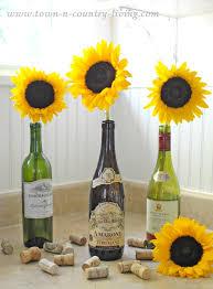 sunflower arrangements simple sunflower arrangement town country living