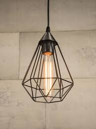 wire cage pendant light new farmhouse style l emory valley