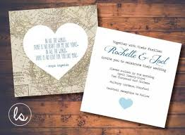 wedding invitations destination diy printable vintage map map wedding invitation destination