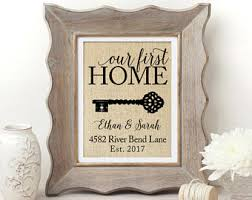 best home gifts new home gift etsy