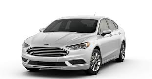 2017 ford fusion color options