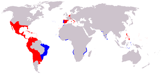 Spain And Portugal Map by Inter Caetera Wikipedia