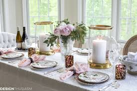 Animal Print Dining Room Chairs by Cool Plates Mixing Animal Print And Soft Floral In A Tablescape